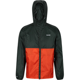 Regatta Roldane Jacket Men, deep forest/burnt salmon